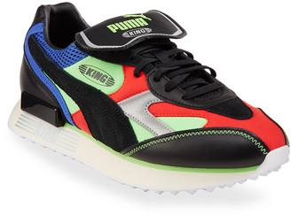 Puma Men's Future Rider King Runner Colorblock Sneakers