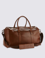 Marks and Spencer Pebble Grain Leather Holdall