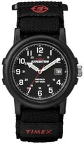 Timex Men's Expedition® Camper Watch with Fast Wrap® Nylon Strap - Black T40011JT