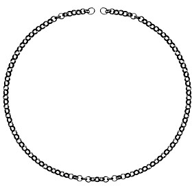 Tous Ruthenium-Plated Sterling Silver Choker Necklace, 16.5