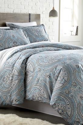 SouthShore Fine Linens Full/Queen Sized Pure Melody Duvet Cover Sets - Aqua