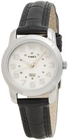 Timex Elevated Classics Sports Chic Watch - Leather Strap (For Women)