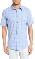 James Campbell Men's Astro Plaid Sport Shirt