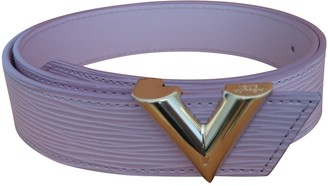 Louis Vuitton Pink Leather Belts
