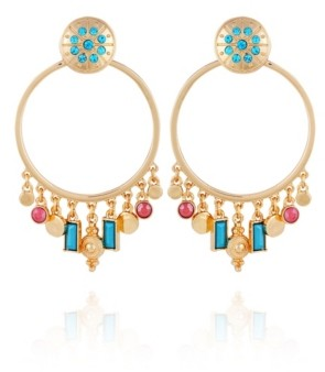 Nanette Lepore Front Facing Hoop Earring