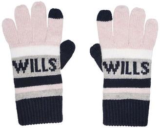 Jack Wills Ewloe Wills Graphic Gloves