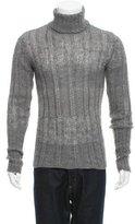 Emporio Armani Alpaca-Blend Turtleneck Sweater