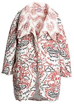 Stella McCartney Women's Reversible We Are The Weather Cotton Padded Jacket
