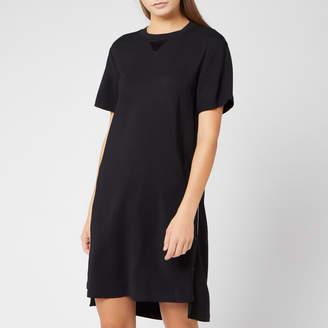 Karl Lagerfeld Paris Women's Dress with Snap Sides - Black - IT 38/UK 6