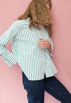 MiH Jeans Mini Oversize Shirt