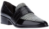 3.1 Phillip Lim crocodile effect loafer