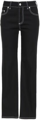 Alexander McQueen Straight-Leg Denim Jeans