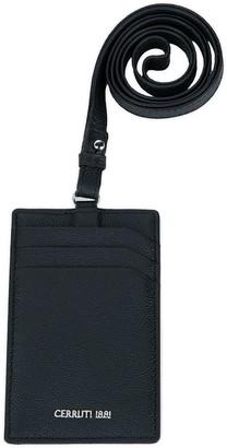 Cerruti Black Leather Cardholder
