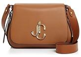 Jimmy Choo Varenne Large Leather Shoulder Bag