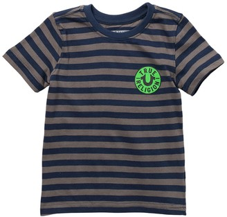 True Religion Logo YD Neon Pop T-Shirt