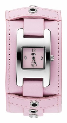 Clips Women's Quartz Watch 553-1008-77 with Leather Strap