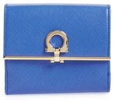 Salvatore Ferragamo Saffiano Calfskin Leather Wallet
