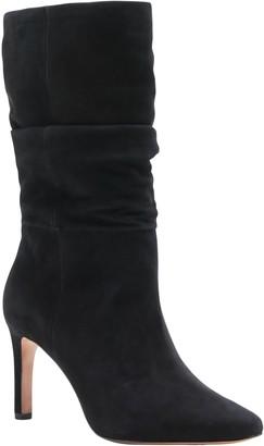 Banana Republic Suede High-Heel Slouchy Boot
