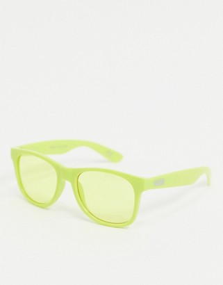 Vans Spicoli 4 Shades sunglasses in yellow
