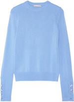 Michael Kors Cashmere Sweater - Light blue