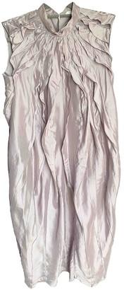 Nina Ricci Purple Silk Dresses