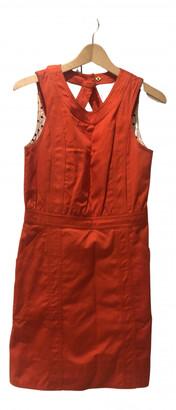 Marc by Marc Jacobs orange Cotton Dresses