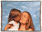 "Highgate Manor Personalized Woven 100% Cotton 54"" x 70"" Photo Blanket"