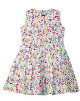 Oscar de la Renta Girls' Floral A-Line Dress