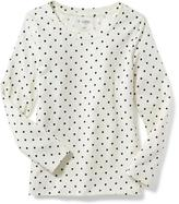 Old Navy Fitted Crew-Neck Tee for Girls