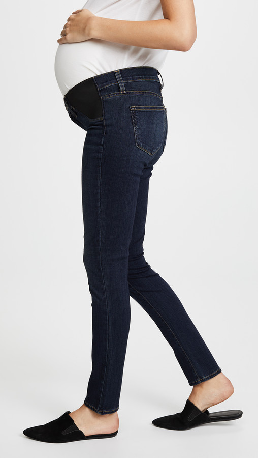Thumbnail for your product : Paige Transcend Verdugo Ultra Skinny Maternity Jeans