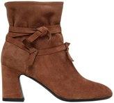 Roger Vivier 70mm Prismik Suede Knots Ankle Boots