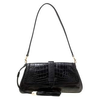 Lancel Black Leather Clutch bags