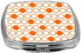 Rikki Knight Inverted Polka Dots Design Compact Mirror