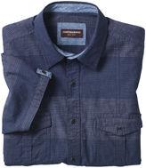 Johnston & Murphy Tonal Denim Double-Pocket Shirt