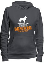 Idakoos Siberian Husky is friendly beware of owner - Dogs - Women Hoodie