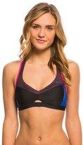 Nike Women's Mesh Color Surge Crossback Sport Bra Bikini Top 8135847