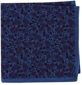 Ted Baker Men's Floral Flannel Pocket Square