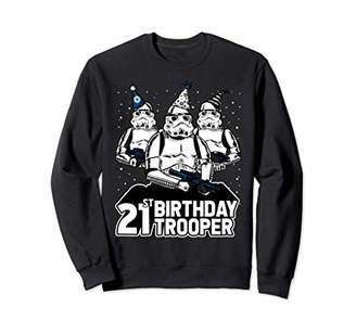 Star Wars Stormtrooper Party Hats Trio 21st Birthday Trooper Sweatshirt