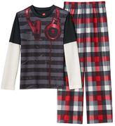Hanes Boys Pajama Set