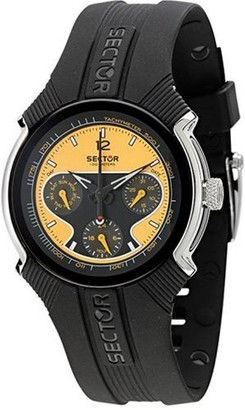 Sector 195 Series R3251195075 Unisex Chronograph Quartz Watch with Rubber Strap