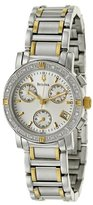 Bulova Women's 98R98 Stainless Steel and Diamond Two-Tone Watch