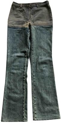 Chanel Blue Denim - Jeans Jeans for Women Vintage