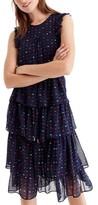 J.Crew Women's Density Tiered Silk Dress