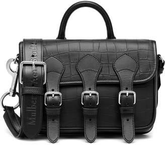 Acne Studios x Mulberry Leather crossbody bag
