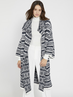 Alice + Olivia Hester Boxy Sweater Coat