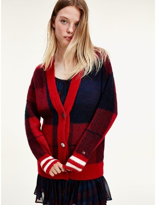 Tommy Hilfiger Icon Check Cardigan