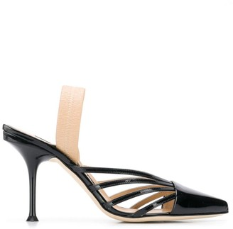Sergio Rossi Stiletto Slingback Shoes