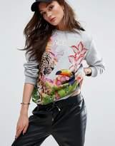 Versace Toucan Logo Sweatshirt