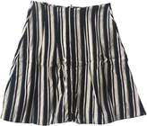 Marni Anthracite Cotton Skirt for Women