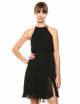 SHO Women's L/S Chiffon Dress